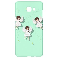 Christmas Angels  Samsung C9 Pro Hardshell Case  by Valentinaart