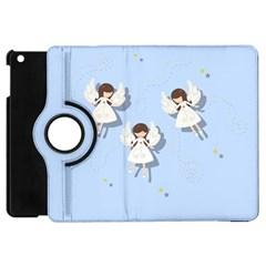 Christmas Angels  Apple Ipad Mini Flip 360 Case by Valentinaart