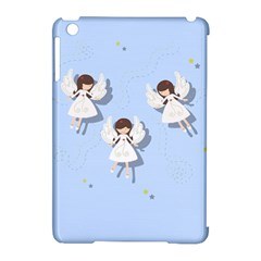 Christmas Angels  Apple Ipad Mini Hardshell Case (compatible With Smart Cover) by Valentinaart