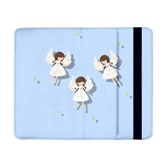 Christmas Angels  Samsung Galaxy Tab Pro 8 4  Flip Case by Valentinaart