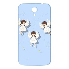 Christmas Angels  Samsung Galaxy Mega I9200 Hardshell Back Case by Valentinaart