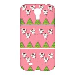 Christmas Angels  Samsung Galaxy S4 I9500/i9505 Hardshell Case by Valentinaart