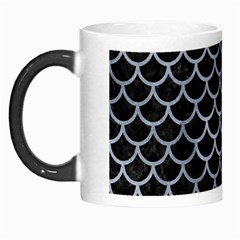 Scales1 Black Marble & Silver Paint (r) Morph Mugs by trendistuff