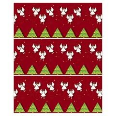 Christmas Angels  Drawstring Bag (small) by Valentinaart