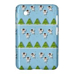 Christmas Angels  Samsung Galaxy Tab 2 (7 ) P3100 Hardshell Case  by Valentinaart