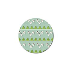 Christmas Angels  Golf Ball Marker by Valentinaart