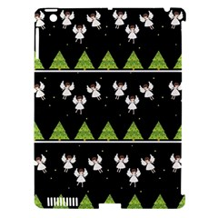 Christmas Angels  Apple Ipad 3/4 Hardshell Case (compatible With Smart Cover) by Valentinaart