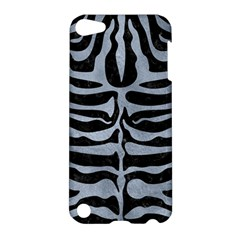 Skin2 Black Marble & Silver Paint (r) Apple Ipod Touch 5 Hardshell Case by trendistuff