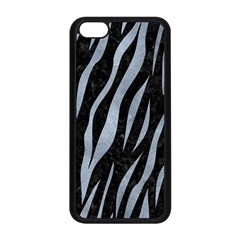 Skin3 Black Marble & Silver Paint (r) Apple Iphone 5c Seamless Case (black) by trendistuff