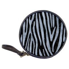Skin4 Black Marble & Silver Paint Classic 20 Cd Wallets by trendistuff