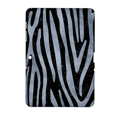 Skin4 Black Marble & Silver Paint Samsung Galaxy Tab 2 (10 1 ) P5100 Hardshell Case  by trendistuff