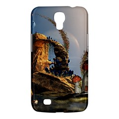 Wonderful Seascape With Mushroom House Samsung Galaxy Mega 6 3  I9200 Hardshell Case by FantasyWorld7