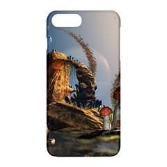 Wonderful Seascape With Mushroom House Apple Iphone 8 Plus Hardshell Case by FantasyWorld7