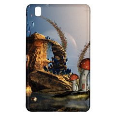 Wonderful Seascape With Mushroom House Samsung Galaxy Tab Pro 8 4 Hardshell Case by FantasyWorld7