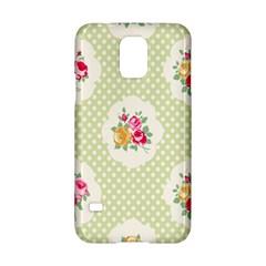 Green Shabby Chic Samsung Galaxy S5 Hardshell Case  by 8fugoso