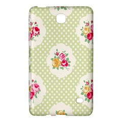 Green Shabby Chic Samsung Galaxy Tab 4 (8 ) Hardshell Case  by 8fugoso