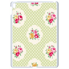 Green Shabby Chic Apple Ipad Pro 9 7   White Seamless Case by 8fugoso