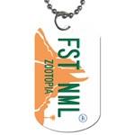 Fast Animal Dog Tag (Two-sided)