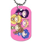 Cutie Moons, Inners & Outters Dog Tag (Two-sided)