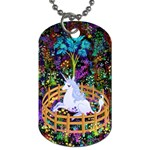The Last Unicorn in Captivity Dog Tag (Two-sided)