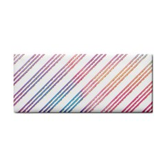 Colored Candy Striped Cosmetic Storage Cases by Colorfulart23