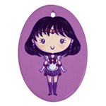 CutiE Saturn Oval Ornament