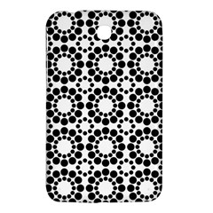 Black White Pattern Seamless Monochrome Samsung Galaxy Tab 3 (7 ) P3200 Hardshell Case  by Celenk