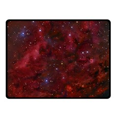Abstract Fantasy Color Colorful Double Sided Fleece Blanket (small)  by Celenk