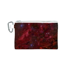 Abstract Fantasy Color Colorful Canvas Cosmetic Bag (s) by Celenk