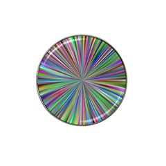 Burst Colors Ray Speed Vortex Hat Clip Ball Marker by Celenk