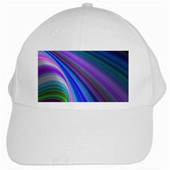 Background Abstract Curves White Cap by Celenk