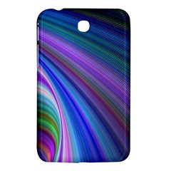 Background Abstract Curves Samsung Galaxy Tab 3 (7 ) P3200 Hardshell Case  by Celenk