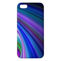 Background Abstract Curves Iphone 5s/ Se Premium Hardshell Case