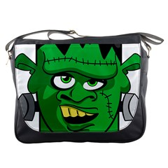 Buy Me A Coffee Halloween Messenger Bags by Celenk