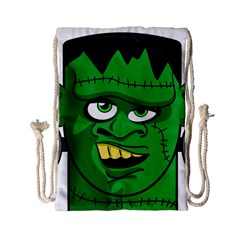 Buy Me A Coffee Halloween Drawstring Bag (small) by Celenk