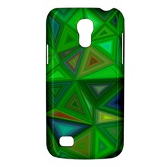Green Triangle Background Polygon Galaxy S4 Mini by Celenk