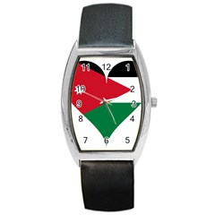 Heart Love Affection Jordan Barrel Style Metal Watch by Celenk