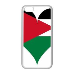 Heart Love Affection Jordan Apple Iphone 5c Seamless Case (white) by Celenk