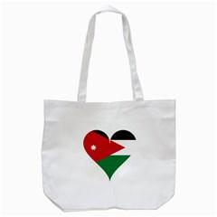 Heart Love Affection Jordan Tote Bag (white) by Celenk
