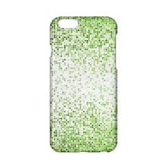 Green Square Background Color Mosaic Apple Iphone 6/6s Hardshell Case by Celenk