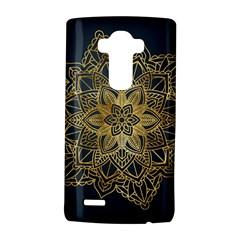 Gold Mandala Floral Ornament Ethnic Lg G4 Hardshell Case by Celenk