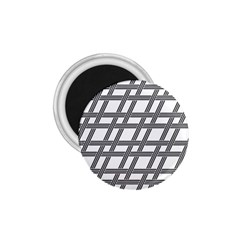 Grid Pattern Seamless Monochrome 1 75  Magnets by Celenk