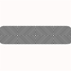 Diagonal Stripe Pattern Seamless Large Bar Mats by Celenk