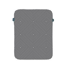 Diagonal Stripe Pattern Seamless Apple Ipad 2/3/4 Protective Soft Cases by Celenk