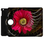 Fantasy Flower Fractal Blossom Apple iPad Mini Flip 360 Case Front