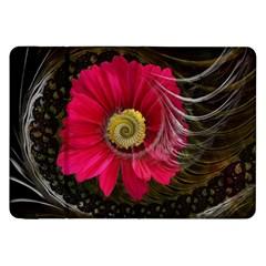 Fantasy Flower Fractal Blossom Samsung Galaxy Tab 8 9  P7300 Flip Case by Celenk