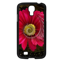 Fantasy Flower Fractal Blossom Samsung Galaxy S4 I9500/ I9505 Case (black) by Celenk