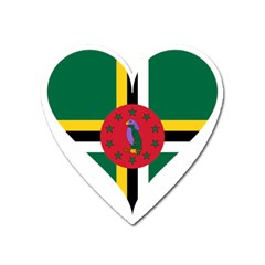 Heart Love Flag Antilles Island Heart Magnet by Celenk