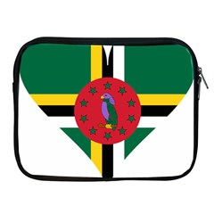 Heart Love Flag Antilles Island Apple Ipad 2/3/4 Zipper Cases by Celenk