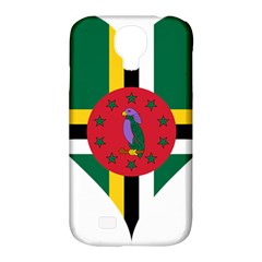 Heart Love Flag Antilles Island Samsung Galaxy S4 Classic Hardshell Case (pc+silicone) by Celenk